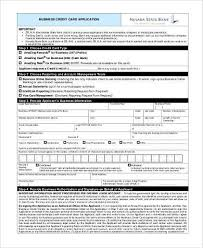 applying for business credit card business credit application form