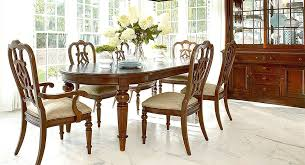 thomasville dining room chairs thomasville dining table chairs w leaves chairish with regard to