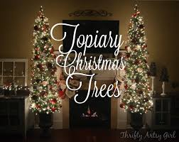 oh christmas tree diy potted topiary skinny christmas trees in