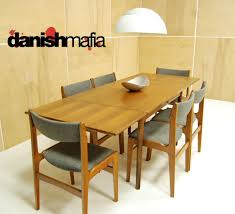 Mid Century Dining Room Mid Century Danish Modern Teak Dining Complete Set Table U0026 6