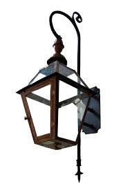 French Quarter Gas Lanterns by French Quarter Lantern With Church Top Finial U2013 Mini Swan Bracket