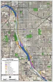 Tulsa Zip Code Map Proposed Arkansas River Design Overlay U2013 Smart Growth Tulsa