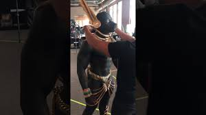 this anubis costume is incredible youtube