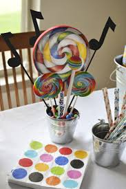 music themed birthday party ideas homemade party decoration