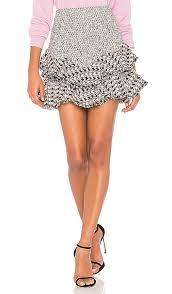 tweed skirt mixed tweed skirt in black combo revolve