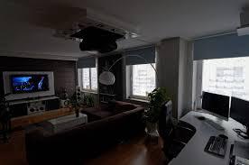 Heimkino Wohnzimmer Beleuchtung Wohnzimmer Beamer Alle Ideen über Home Design