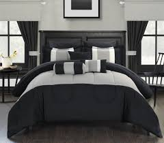 Bedroom King Size Bed Comforter by Black And White Bedding Sets Queen Fullscreen Download Pictures