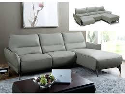 meublez com canapé canape relax cuir pas cher canapac dangle en vesuvio noir tetiere