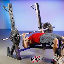 Legacy Fitness Weight Bench The X Mark International Olympic Weight Bench With Leg Extension