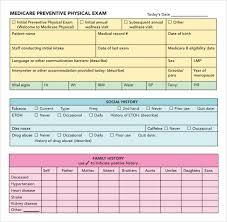 doc 580650 physical exam template u2013 physical exam template 8