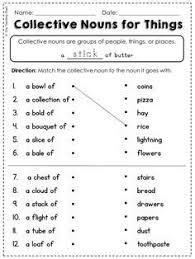 mer enn 25 bra ideer om collective nouns worksheet på pinterest
