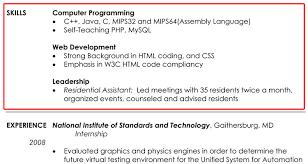 skill for resume resume badak