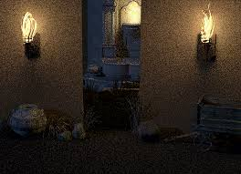 can you create mesh lights in poser