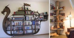 creative shelving 15 insanely creative bookshelves you need to see