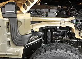 jeep yj snorkel wrangler snorkels by rugged ridge
