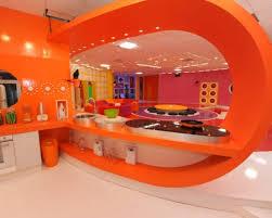 cuisine orange et noir stunning decoration cuisine orange et vert images antoniogarcia