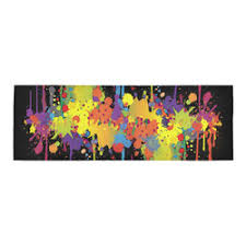 Graffiti Area Rug Personalized Graffiti Area Rug Artsadd
