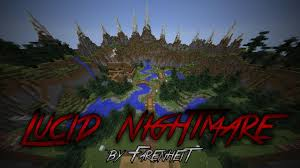Dantdm Maps Horror Lucid Nightmare Played By Dantdm U0026 Captainsparklez