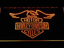 harley davidson lighted signs motorcycle led signs safespecial led signs led clocks
