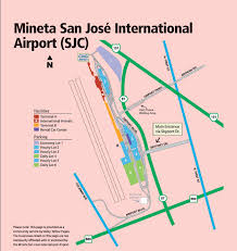san jose airport on map your resource for local airports airport operation information