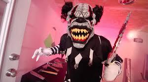 panda costume spirit halloween 60509 last laugh the clown ani motion mask youtube