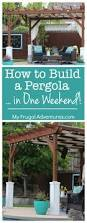 best 25 building a pergola ideas on pinterest pergula ideas