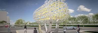 newest l a u0027s newest public sculpture celebrates freedom and diversity kcet