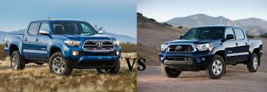 toyota tacoma 2016 models differences between the 2016 toyota tacoma and 2015 toyota tacoma