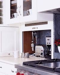 Small Kitchen Appliances Garage With Tiled Backsplash by 92 Best Kitchen Ideas Images On Pinterest Kitchen Ideas