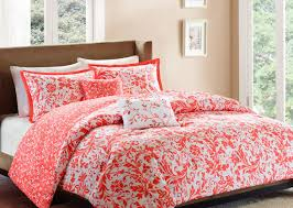 bedding set compelling grey orange bedspread ravishing navy