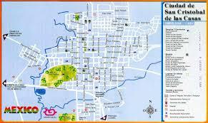 Map De Mexico by San Cristobal De Las Casas Mexico San Cristobal De Las Casas