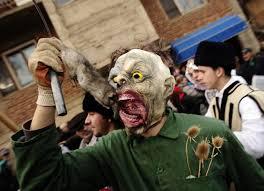 nixon halloween mask ancient pagan celebration in macedonia business insider