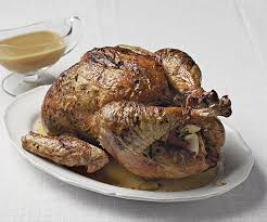 rubbed roast turkey with pan gravy recipe finecooking