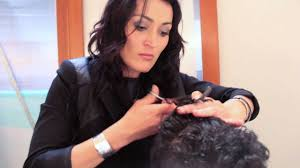 curly hair parlours dubai step by step men s haircut cutting curly hair youtube