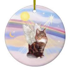 maine coon cat ornaments keepsake ornaments zazzle