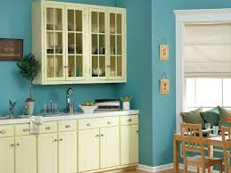 kitchen paint color ideas sky blue wall paint with white for cabinets kitchen paint