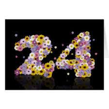 24th birthday cards invitations greeting photo cards zazzle