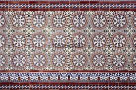 tile ornaments detail andalusia spain europe places