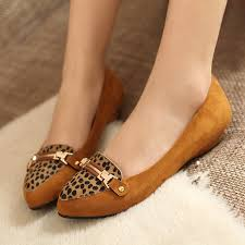 Elegant Comfortable Shoes Elegant 2013 Leopard Slope With Single Shoes Comfortable Flat