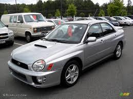 2002 platinum silver metallic subaru impreza wrx sedan 33189455