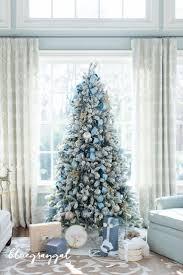 blue christmas decorations ideas best kitchen designs