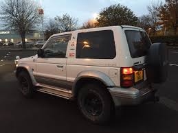 mitsubishi pajero 2 8 turbo diesel rare manual swb mot 19th july