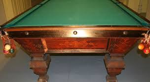 pool tables for sale nj antique pool tables dr lori ph d antiques appraiser