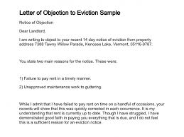 letter of objection