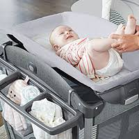 Graco Pack N Play Bassinet Changing Table Graco R Pack N Play R Connect Tm Portable Bouncer