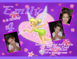 tinkerbell invitations personalized 4k wallpapers