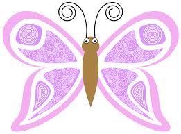 clipart cartoon butterfly kp8