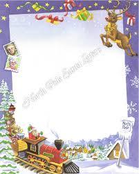 template for santa letter letters backgrounds north pole santa letters north pole train