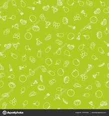 seamless pattern fruit and vegetables u2014 stock vector