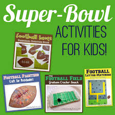 little family fun super bowl activities for kids